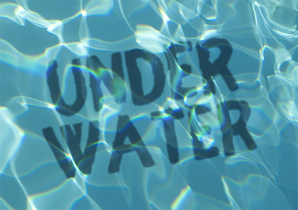 How to Create an Underwater Text Effect in Photoshop
