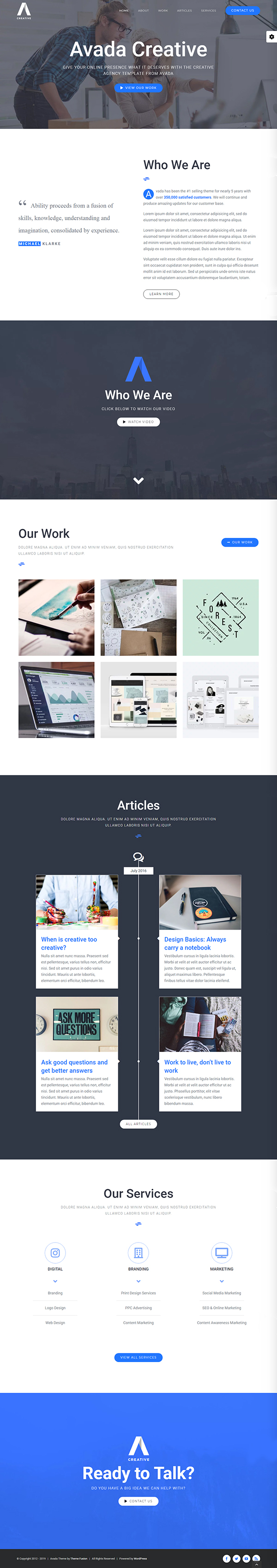 Avada - Responsive Multi-Purpose WordPress Theme