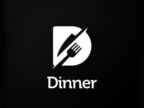 D For Dinne Logo Design