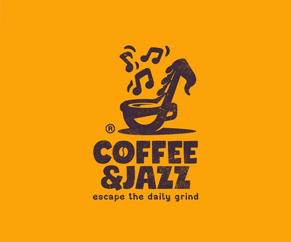 Coffee & Jazz Logo Design