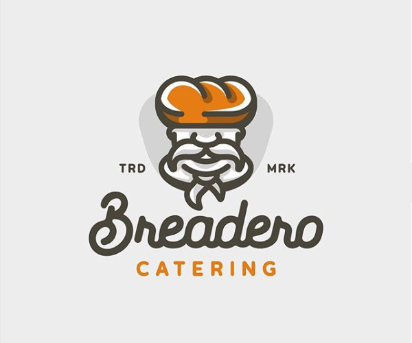Breadero Catering Logo Design