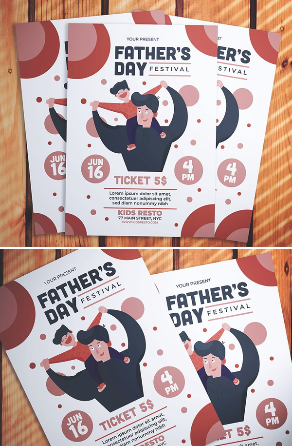 Father's Day Event Flyer