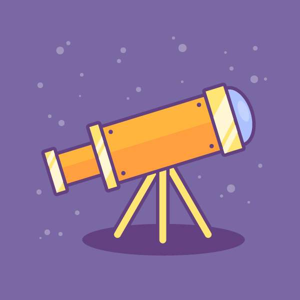 Create a Telescope Icon in Adobe Illustrator