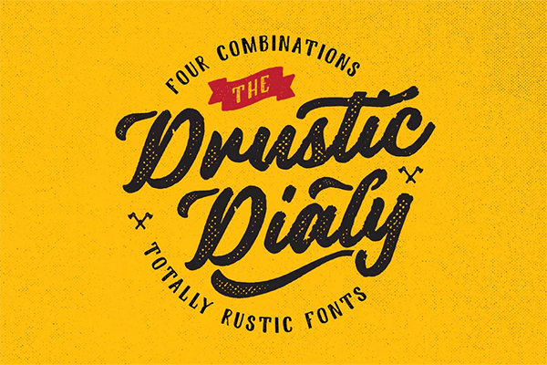 DrusticDialy Font