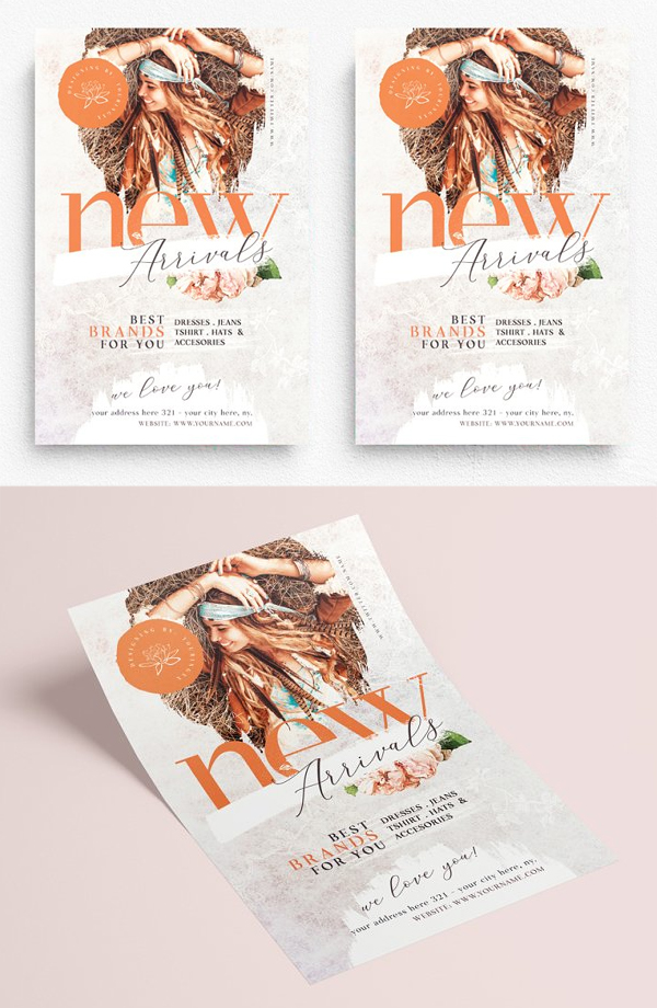 New Arrivals Flyer Template