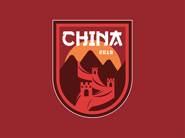China Badge Logo Design