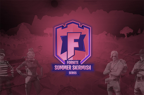 Fortnite Summer Skirmish Logo Design