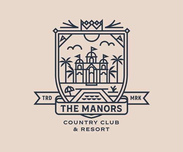 Manors - Palm Springs Badge
