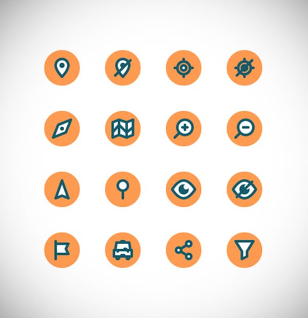Illustration: Create a Location Themed Icon Pack