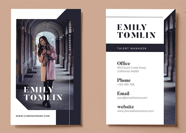 Business Card AI and PSD
