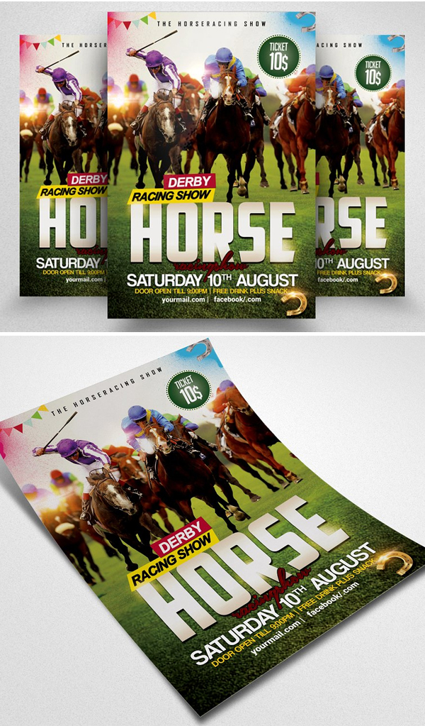 Horse Racing Championship Flyer