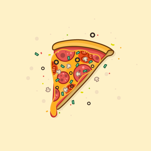 Illustration: Create a Delicious Pizza
