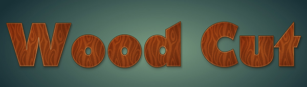 Create a Wood Cut Text Treatment with Graphic Styles