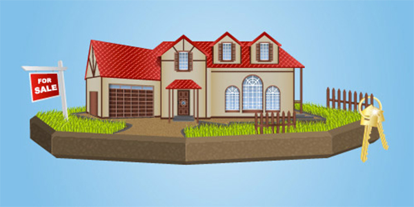How to Draw a Real Estate House