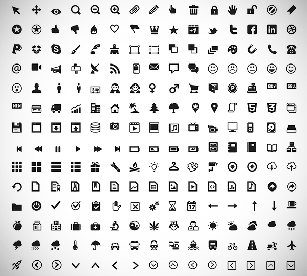 Useful Collection of Free Icons