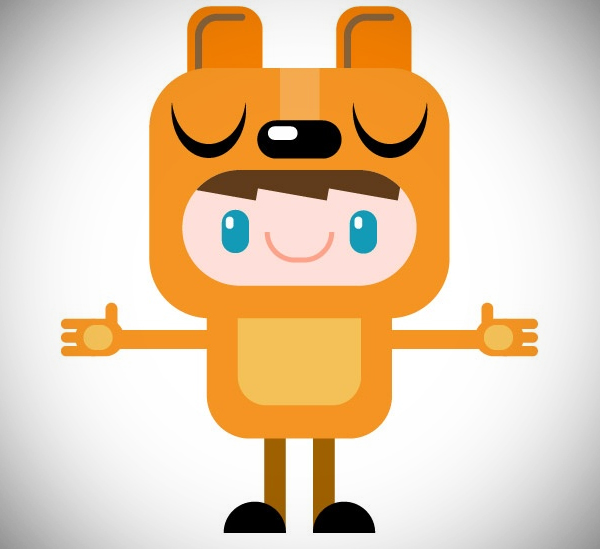 Illustration: Design Simple Shapes Characters
