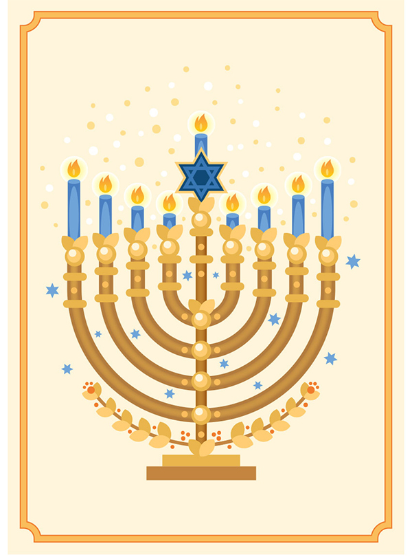 How to Create a Menorah Illustration in Adobe Illustrator