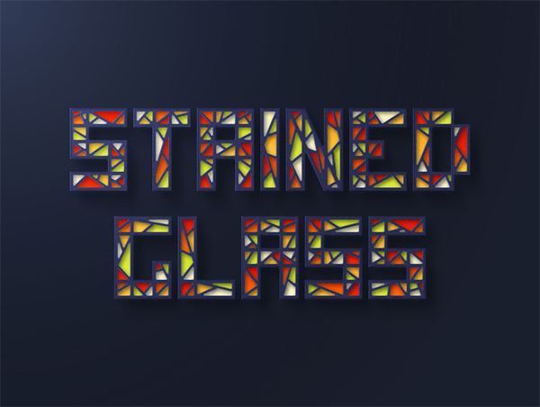 How to Create a Stained Glass Text Effect in Illustrator