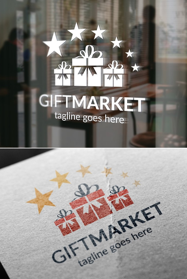 Awesome Gift Market Logo