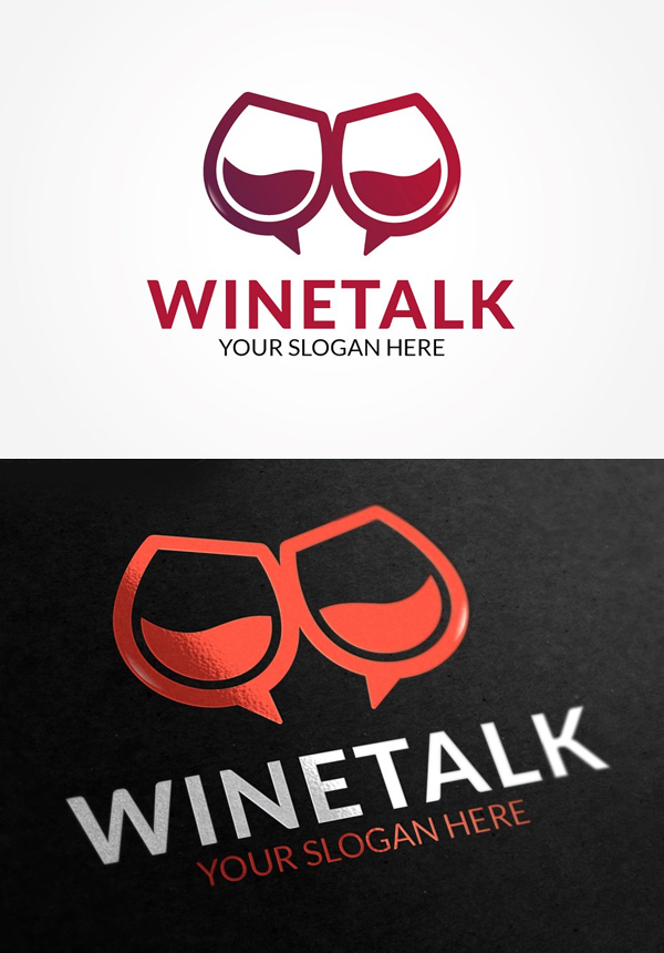 Wine Talk Logo