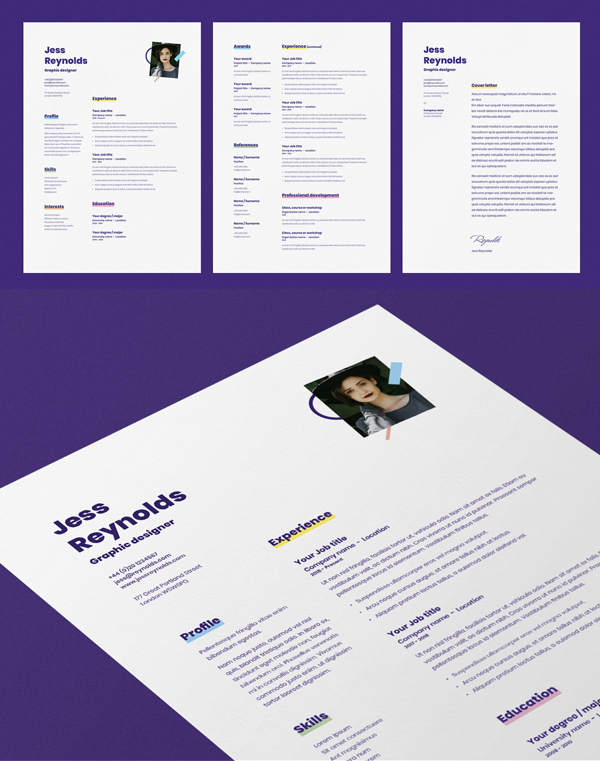 Jess | CV / Resume Template