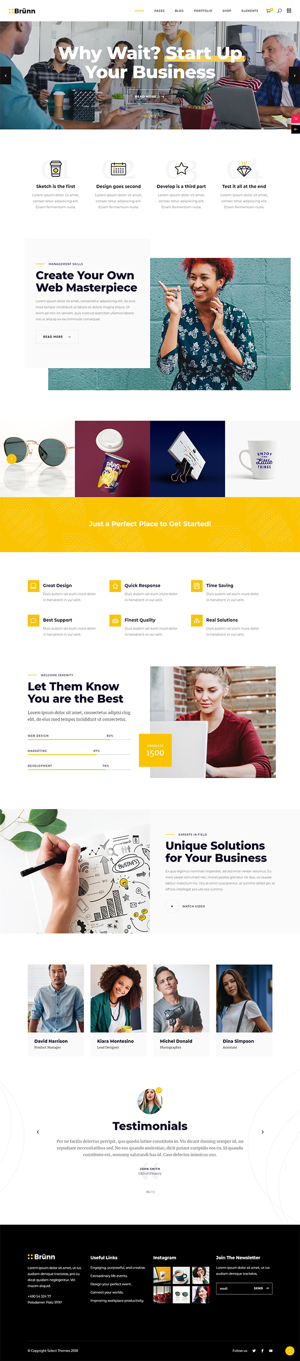 Brünn - Creative Agency Theme