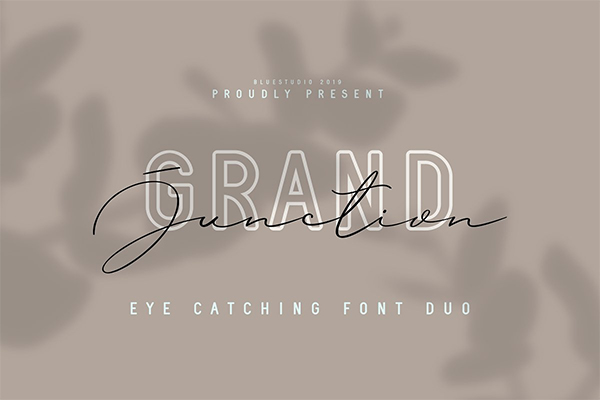 Grand Junction // Font