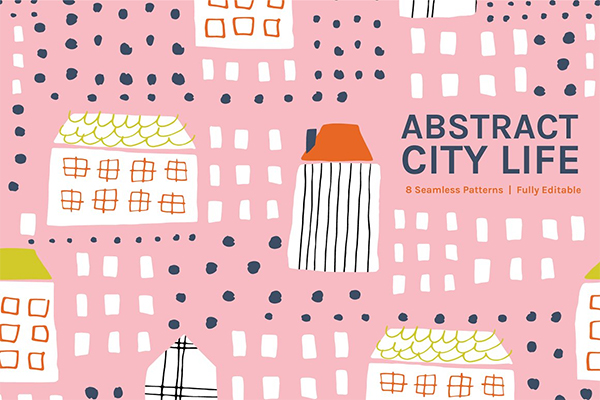 Abstract City Life | Patterns