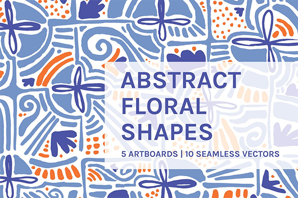 Abstract Floral | Boards + Patterns