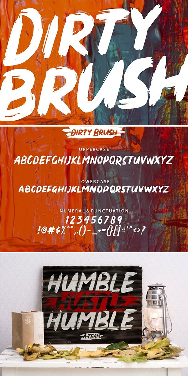 60 Best Brush Fonts For Graphic Designers - 59