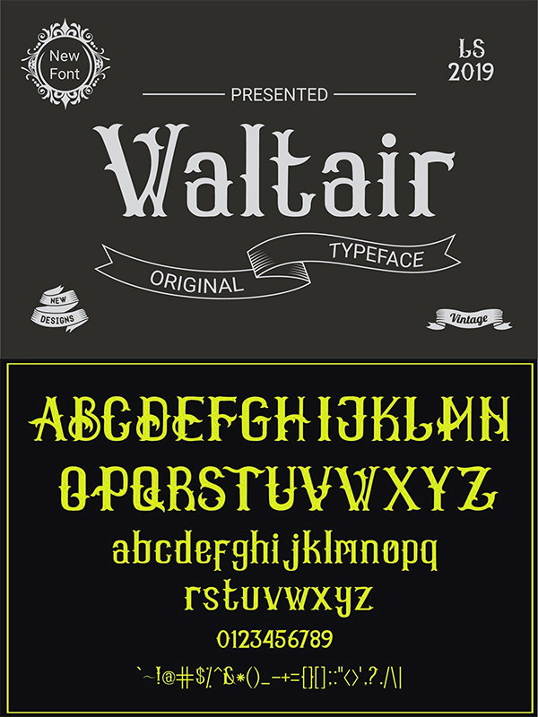 Waltair Hand-writting Font