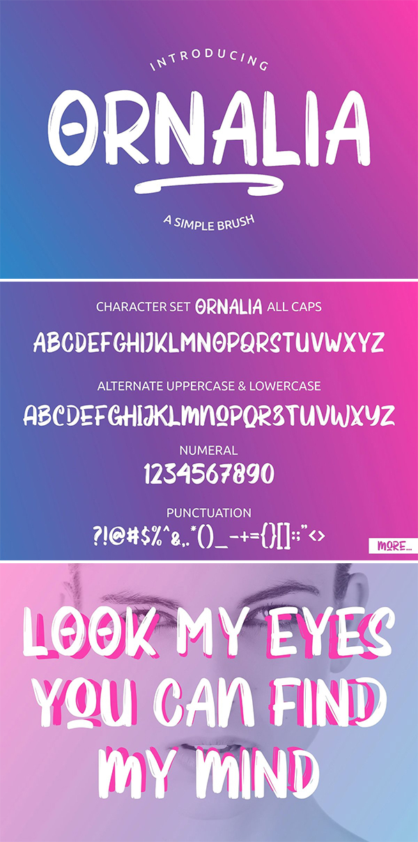 Ornalia Display Font