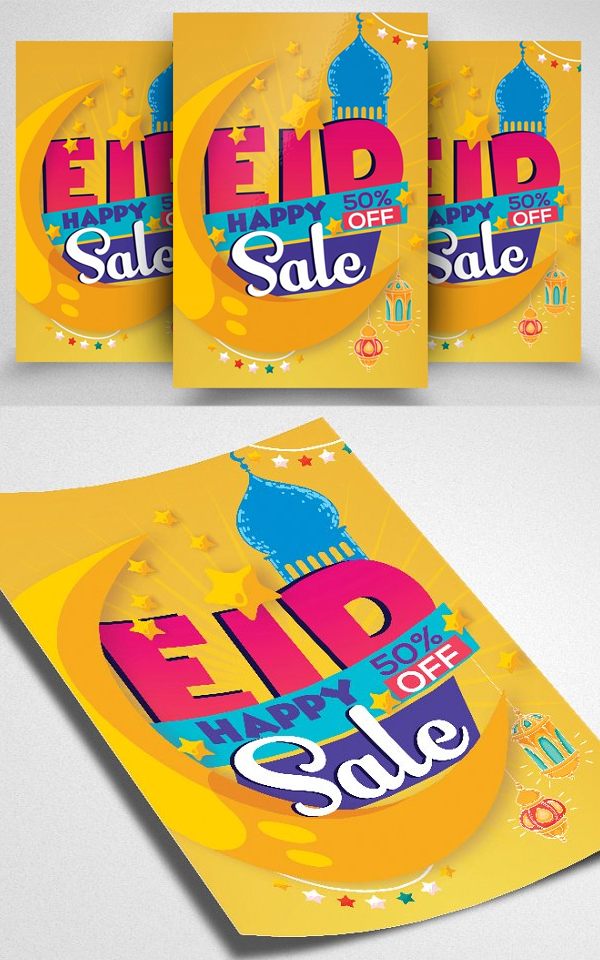 Eid Sale Offer Flyer