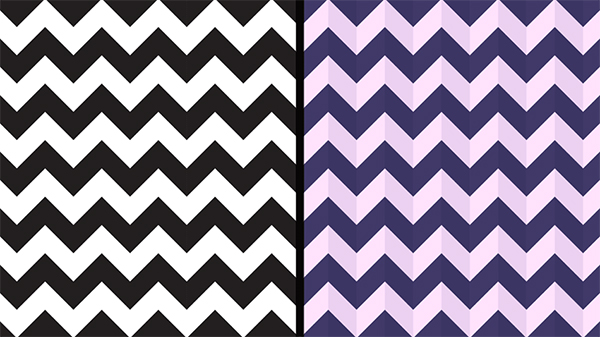 How to Make an Illustrator Chevron Pattern