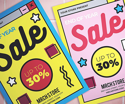 20 Professional Creative Flyer Templates Designs