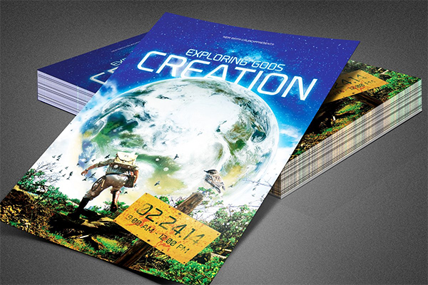 Exploring Creation Church Flyer