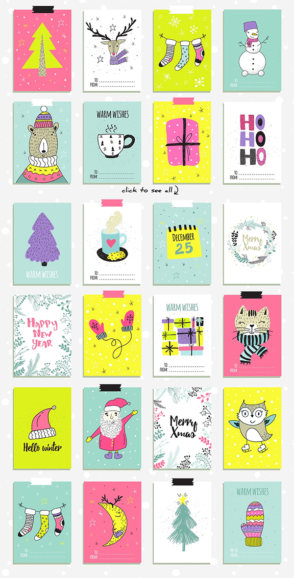 Creative & Colorful Christmas Collection
