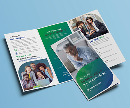 Post thumbnail of Professional Business Brochures And Stylish Flyer Templates Designs