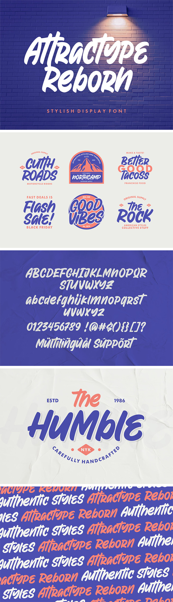 Reborn Display Font