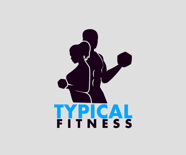 Typical Fitness Logo Design