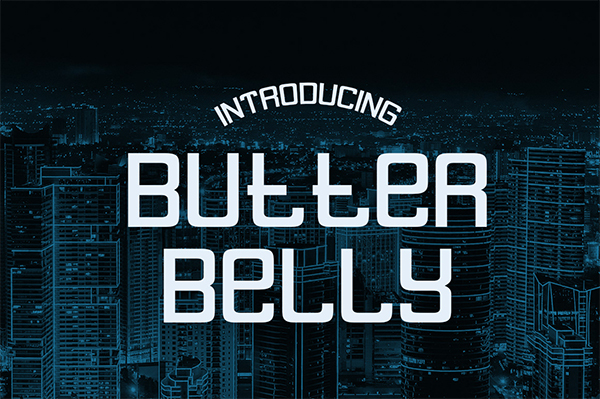 Butterbelly Free Font
