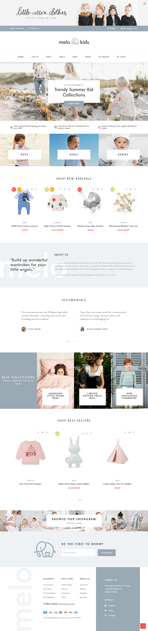 MeloKids - Store & Kids Shop WooCommerce Theme