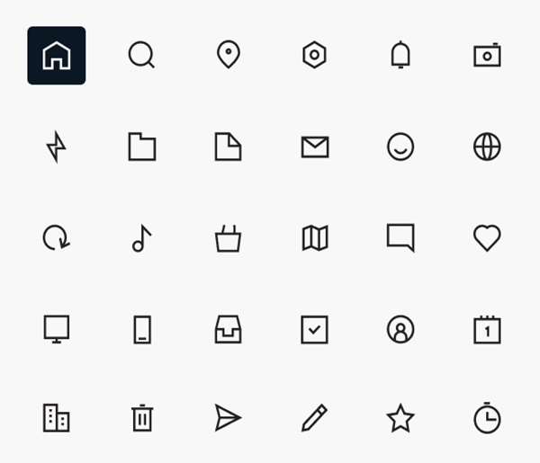 Free Workfy Icons Set