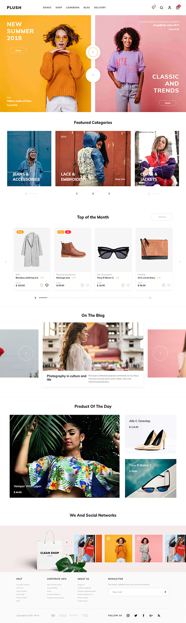 Plush - Boutique Women's Fashion WooCommerce Theme