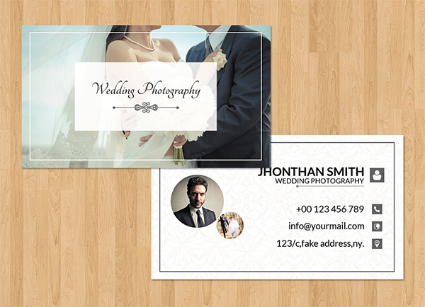 Awesome Photographer Business Card