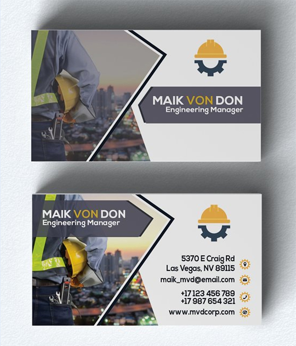 Fresh Business Card Template