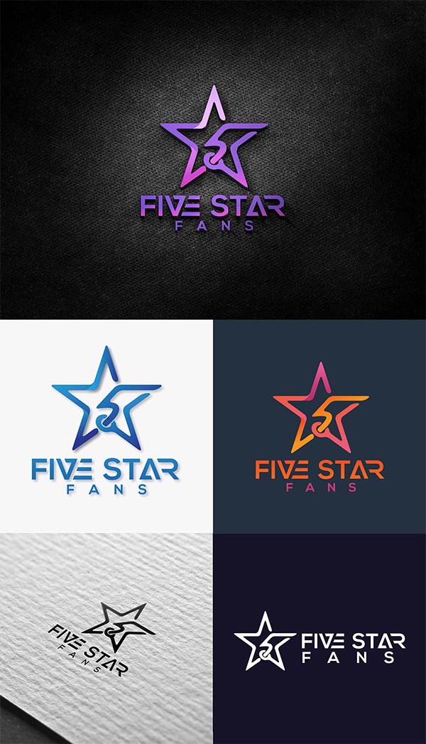 Five Star Creative Logo Design