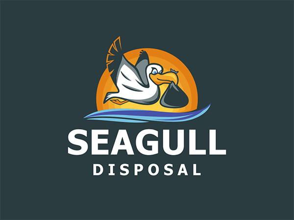 Seagull Disposal Logo Design