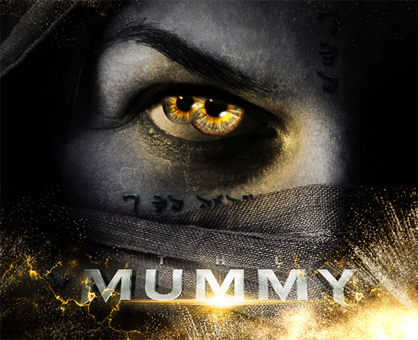 The Mummy Movie Poster Effect in Photoshop