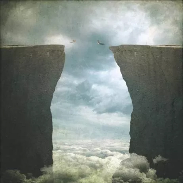 How to Create a Conceptual Image of a Couple Jumping from High Cliffs in Photoshop
